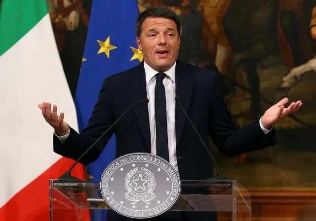 Matteo Renzi quits