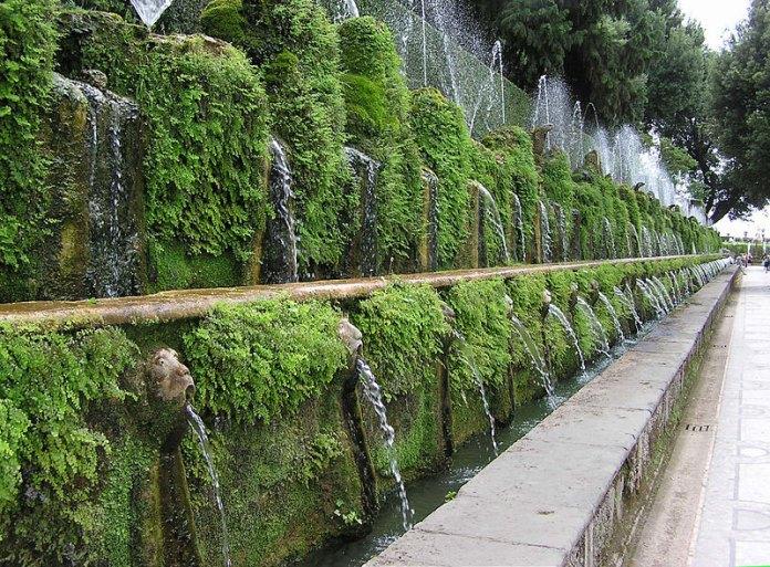 One.hundred.fountain.at.villa.d'este