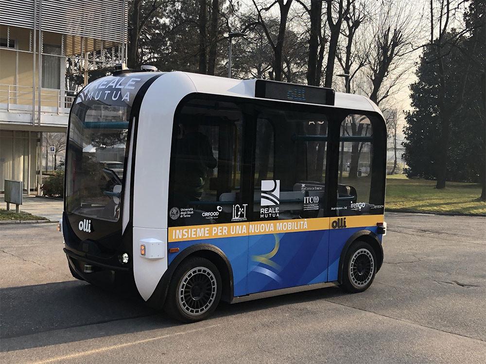 'Olli' Self-Driving Shuttle