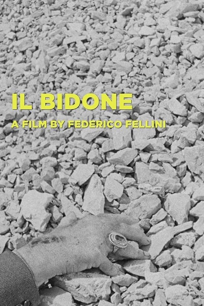 "Poster for the movie ""Il Bidone"""