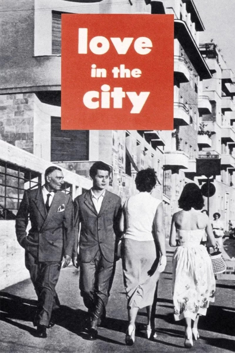 """Poster for the movie """"Love in the City"""""""