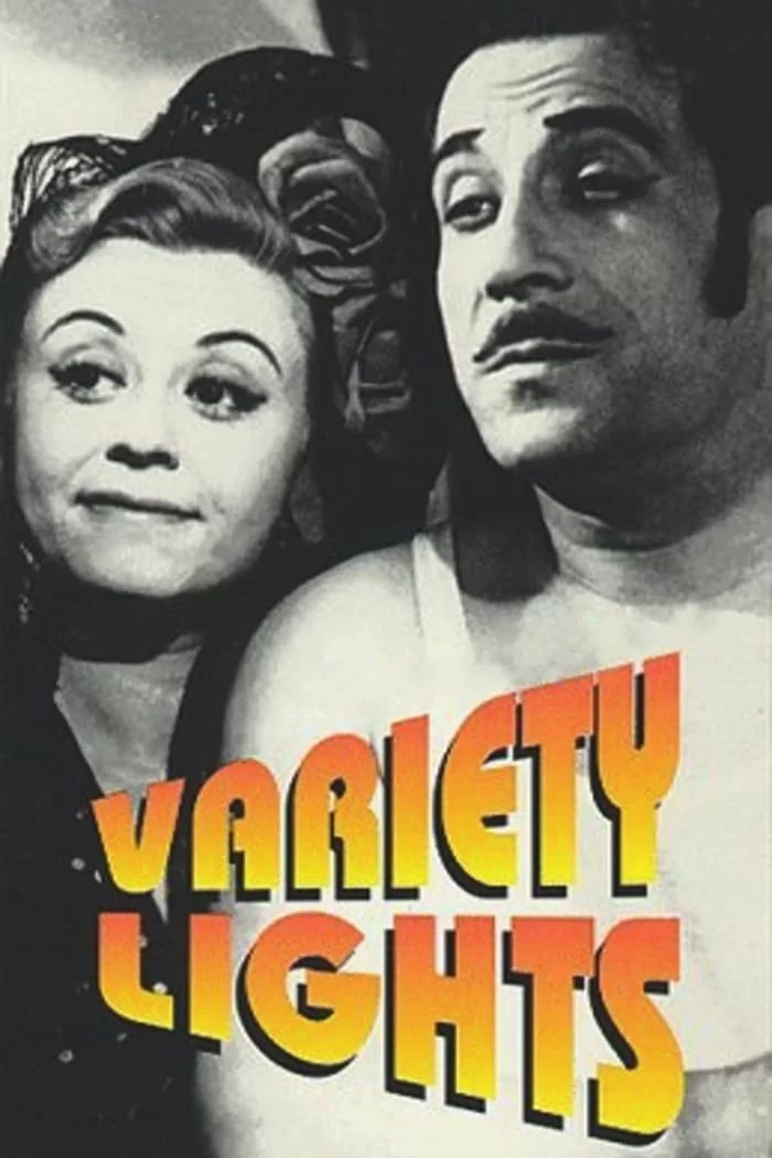 """Poster for the movie """"Variety Lights"""""""