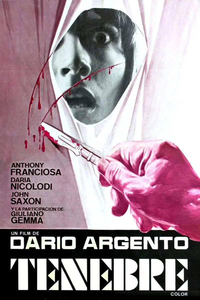 """Poster for the movie """"Tenebre"""""""