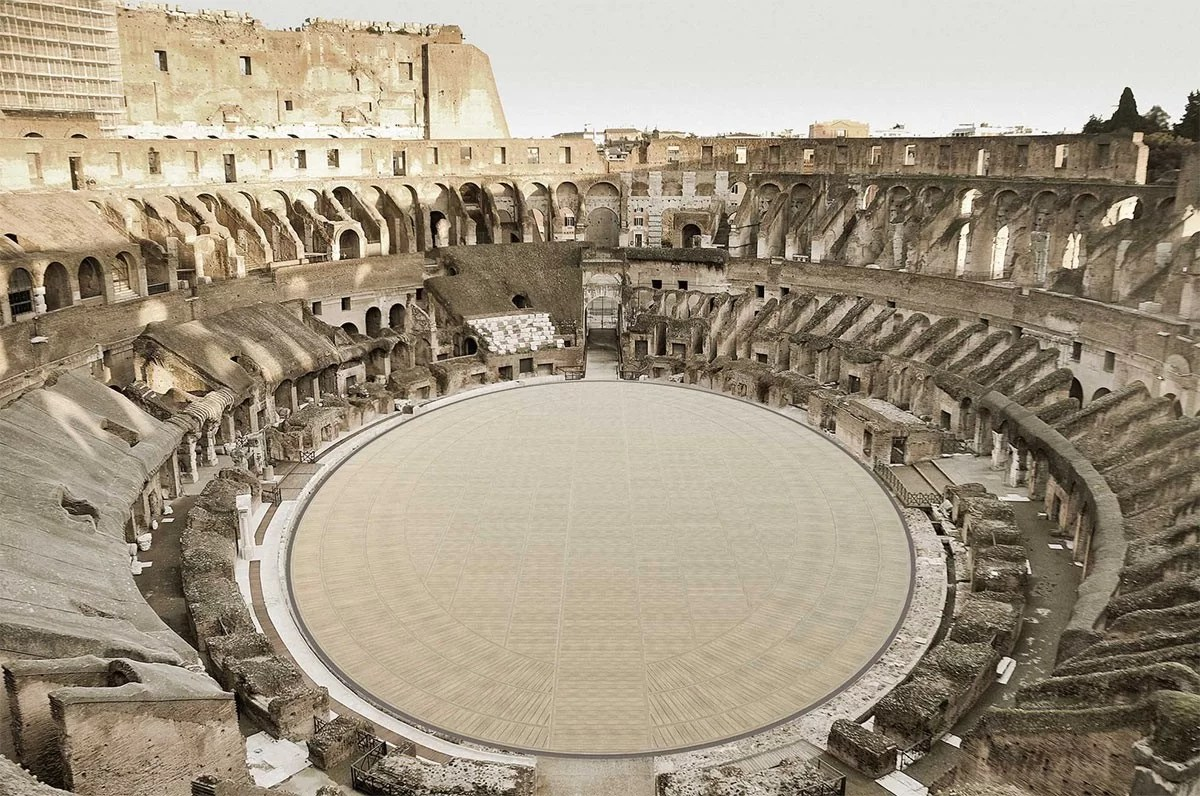 Rome's-Colosseum-in-Italy-to-get-new-arena-floor
