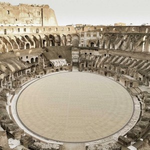 Rome's Colosseum in Italy to get new arena floor
