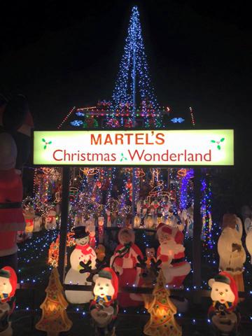 Martels Christmas Wonderland  Weird NJ