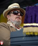 With any luck, the voodoo man himself, Dr. John, will put the gris gris on you while he tickles the keys at Jazzfest. This piano master is a hometown favorite and every year perfoms a set that should not be missed. - Photo by Captain Brian Epstein