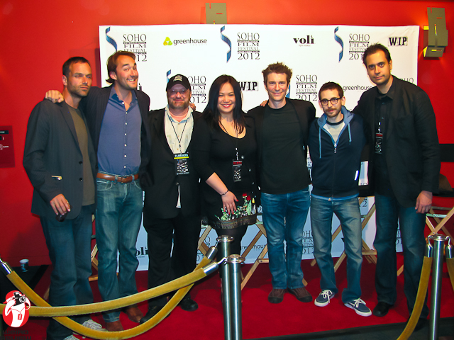 Filmmakers and festivals organizers at the Sunshine Cinemas