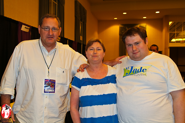 Jeff Burr, Cody's Mom, and Cody after our interview