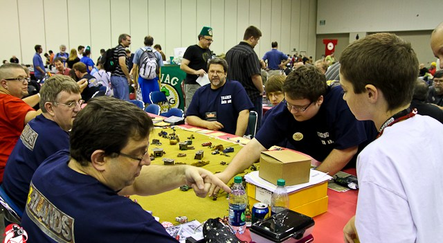 The halls were filled with the sound of gaming at Gen Con 2012!
