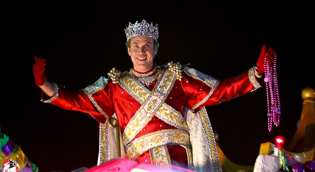King Bacchus 2012 - Will Ferrell
