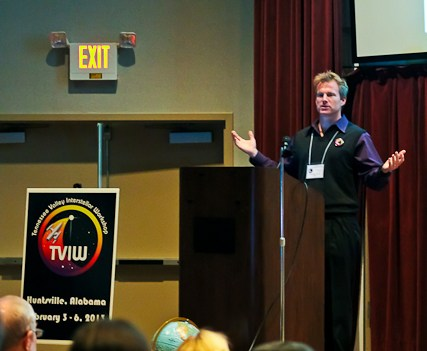 Travis Taylor discusses the importance of learning to live on Marsbefore the stars