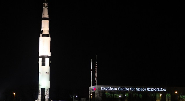 Rocket City - Huntsville, Alabama - where rockets are used as decorations