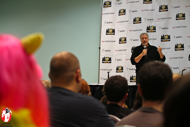 """John De Lancie speaking on """"My Little Pony"""" at the Wizard World Comic Convention in Ohio"""