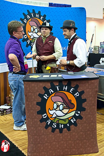 Mike Richie and Grant Wilson from Rather Dashing Games