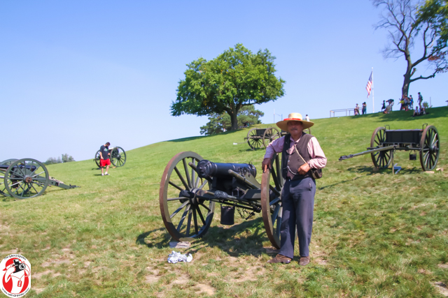 This Civil War era canon was cast in 1836 and was used in the Spanish American War before it was used in the Civil War and is valued between $50 and $100,000.