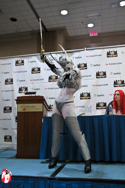 Freddie Nova as Lady Death at the 2012 Chicago Wizard World Comic Convention