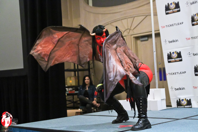 Miss Rose Noir as Purgatori at the 2012 Chicago Wizard World Comic Con