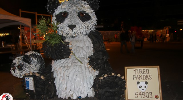 """""""Tired Pandas"""" by Nick Jakubiak were announced today among the ArtPrize 2013 top tem"""