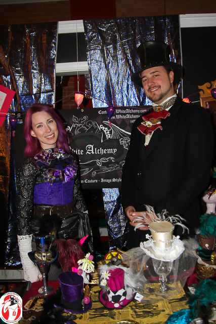 Azriel Le Fey and Jeremy Rahn at the SPG Yulemas photo-shoot  ©2013 by John N Collins