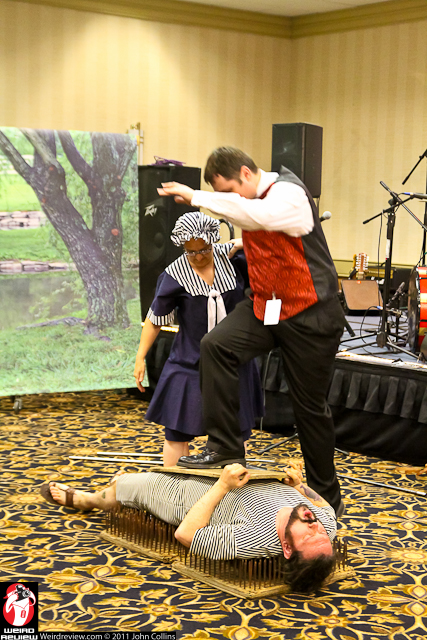 A Pickled Performance at the Steampunk Empire Symposium 2013