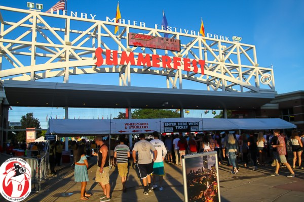 Summerfest in Milwaukee, Wisconsin - awesome!