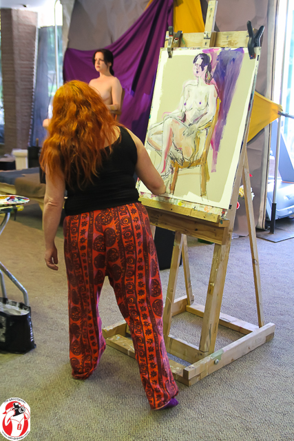 Tali Farchi at a recent Artist Table event
