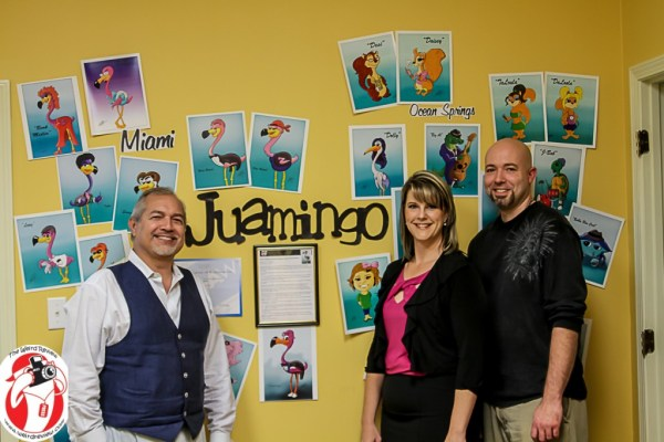 The creative folks that are working to bring Juamingo to the screens