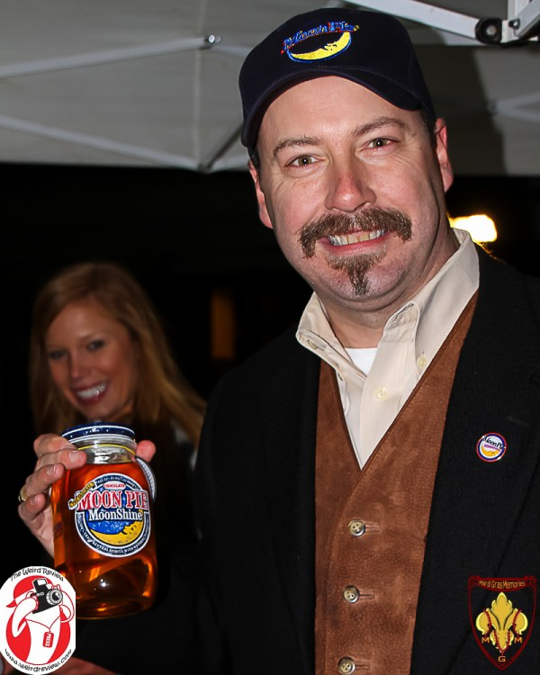 Stephen Fante and Moon Pie Moonshine at Moon Pie over Mobile
