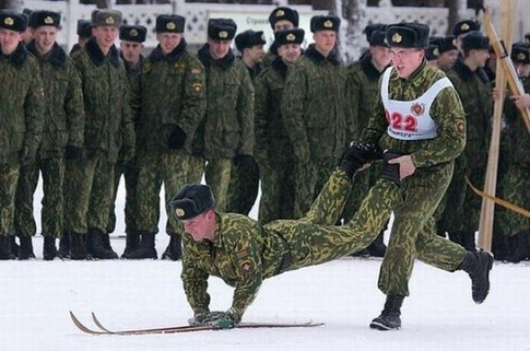 Now you know why invading Russia in the winter is a bad idea...