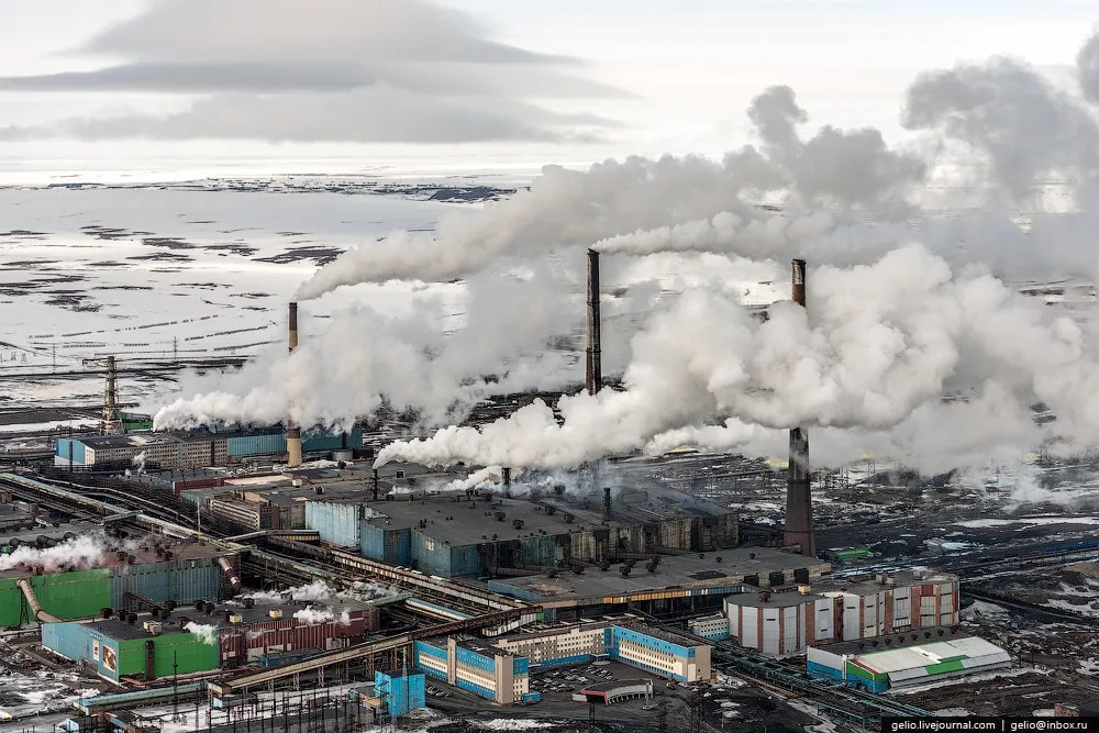 The City of Norilsk - One Of The Most Polluted Places On Earth
