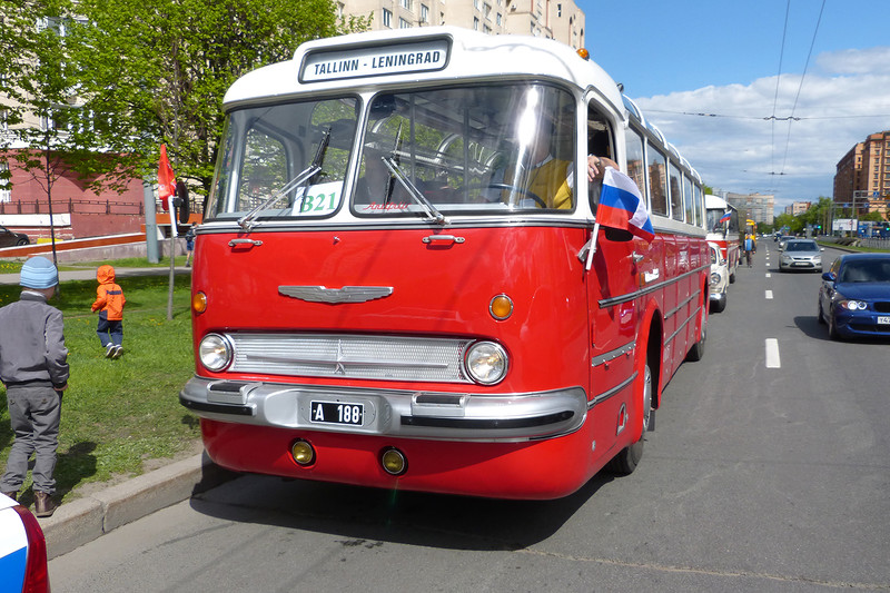Ikarus 55, 1968. This bus was driven by the guest from Estonia