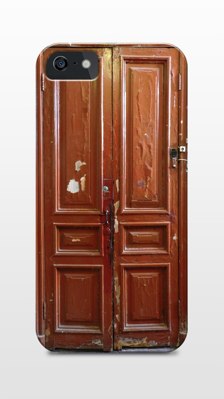 Typical Russian apartment door