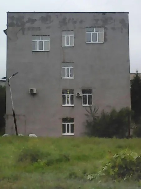 Apartment buildings in Omsk