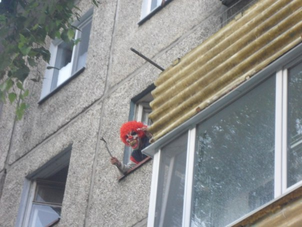 Typical neighbor in Omsk