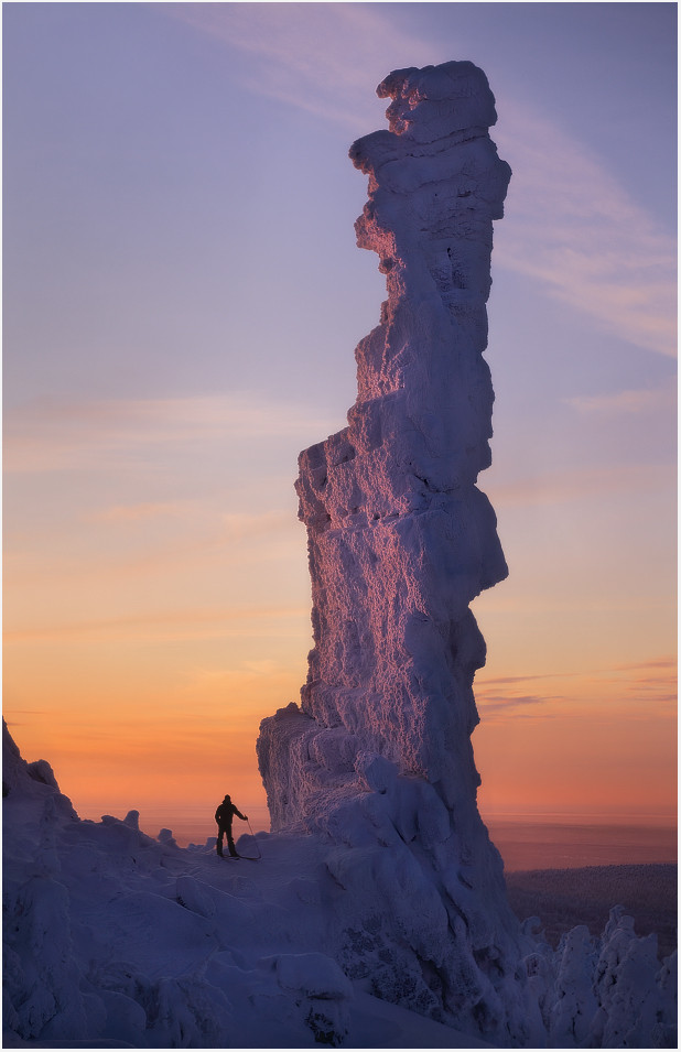 Pomyanenny Stone, Ural Mountains