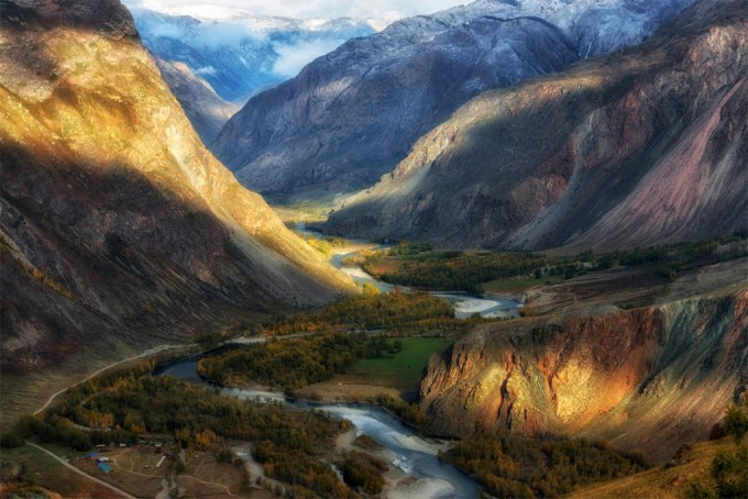 Chulyshman Canyon in Altai Republic Photo by Andrey Grachev