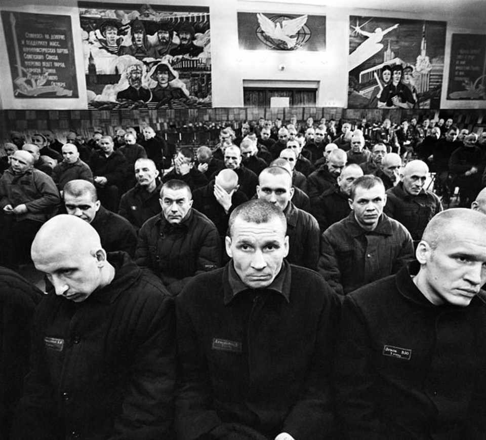 Honorable Mention prize stories. 'Behind bars': live in Soviet prison camps Photo by Sergey Vasiliev - 1991