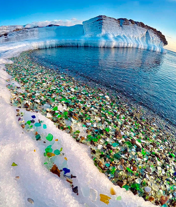 Glass Beach: Nature's Way of Recycling