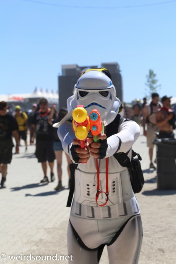 Certains se sont crus à une convention Star Wars!