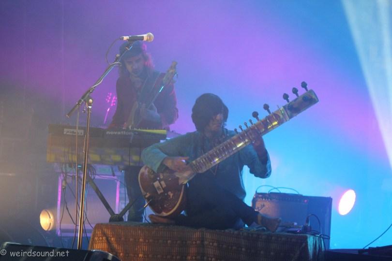 Rishi Dhir avec Elephant Stone / Festival Levitation Angers /Septembre 2017/