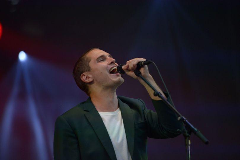 Victor Solf, chanteur leader de Her