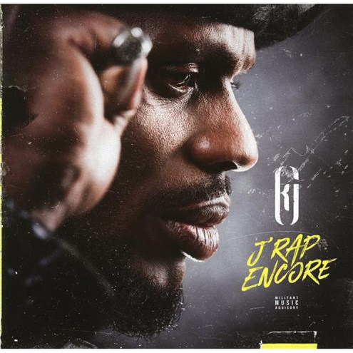 Kery James - J'rap encore, pochette de l'album