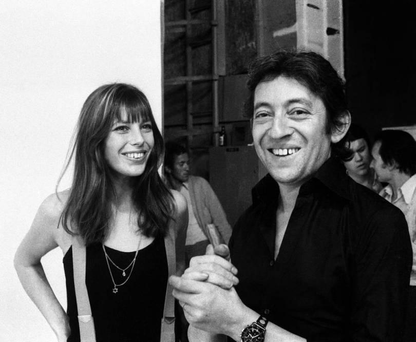 Jane Birkin et Serge Gainsbourg, 1971.