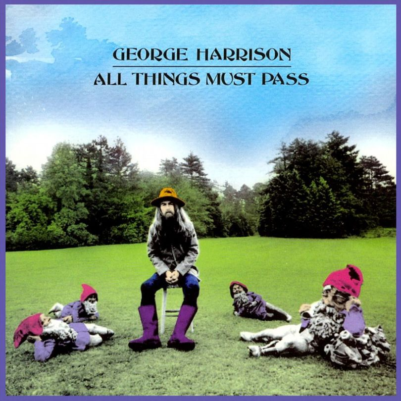 Pochette de l'album All Things Must Pass George Harrison