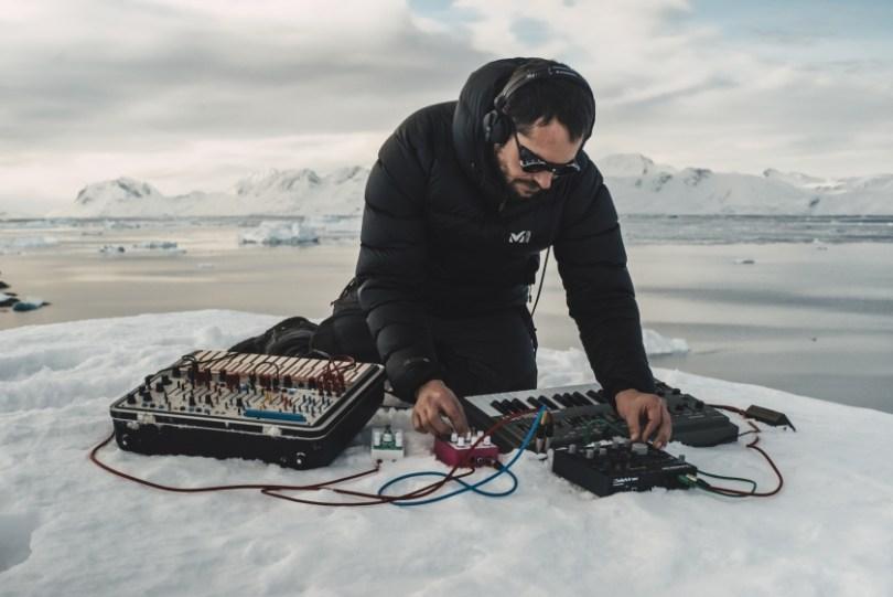 Molécule en 2017 au Groenland - crédit photo : V.Bonnemazou