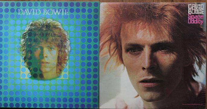2ème album de Bowie avec Space Oddity version 1969 et réédition de 1973