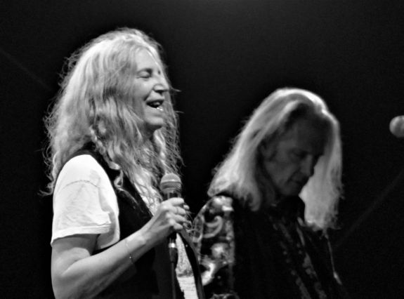 Patti Smith et Lenny Kaye Guéret 2019 photo 2 marie weirdsound
