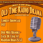 Audio cover for Our Miss Brooks – Lack of Coal at Maddison High