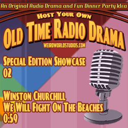 Audio cover for Winston Churchill - We Will Fight On the Beaches